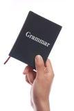 Libro de la gramática Imagen de archivo libre de regalías