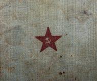 Libro de la identificación del ` s del soldado de ejército rojo Fotografía de archivo