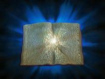 Libro de la luz stock de ilustración
