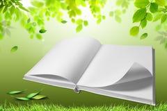 Libro de la naturaleza Imágenes de archivo libres de regalías