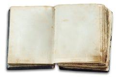 Libro de la vendimia con las paginaciones en blanco imágenes de archivo libres de regalías