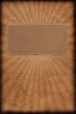 Libro de la vendimia con resplandor solar Foto de archivo libre de regalías