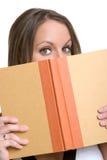 Libro de lectura de la mujer imágenes de archivo libres de regalías