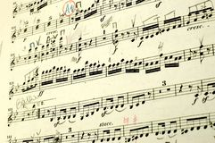 Libro de música Imágenes de archivo libres de regalías
