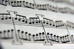 Libro de música Fotografía de archivo libre de regalías