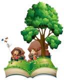 Libro de niños Imagen de archivo libre de regalías
