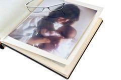 Libro de recuerdos 01 imagen de archivo