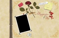 Libro de recuerdos Stock de ilustración