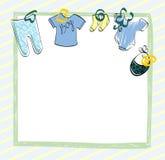 Libro de recuerdos de los bebés Fotos de archivo libres de regalías