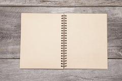 Libro de recuerdos en blanco Imagenes de archivo
