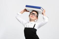 Libro de texto de la escuela Fotos de archivo libres de regalías