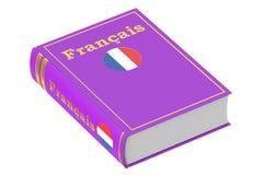 Libro de texto de la lengua francesa Imagen de archivo libre de regalías
