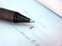 Libro de verificación Fotografía de archivo libre de regalías