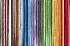 Libro dei campioni di colore Fotografia Stock