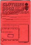 Libro dei vestiti Fotografia Stock