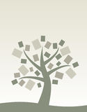 Libro del árbol fotos de archivo