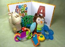Libro del ABC Imagen de archivo