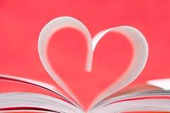 Libro del amor Imagenes de archivo