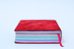 Libro del arco iris Fotografía de archivo libre de regalías