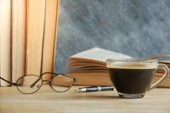 Libro del café Imagen de archivo