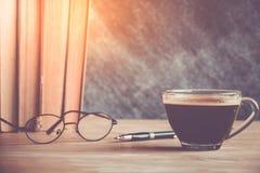 Libro del café Imágenes de archivo libres de regalías