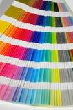 Libro del campione di colore Fotografie Stock