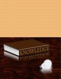 Libro del conocimiento Foto de archivo libre de regalías