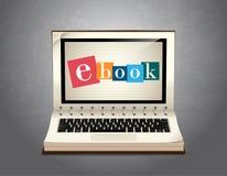 Libro del elearning - aprendizaje de Ebook libre illustration
