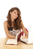 Libro del estudiante imagenes de archivo