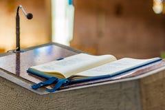 Libro del evangelio foto de archivo libre de regalías