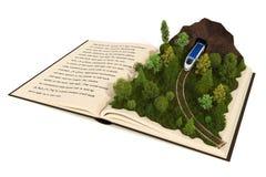 Libro del Fairy-tale Foto de archivo libre de regalías