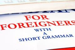 Libro del lenguaje Imagen de archivo