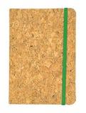 Libro del marrón de la visión superior en el fondo blanco Foto de archivo libre de regalías