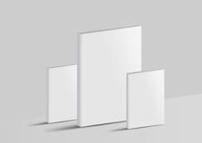 Libro del modello isolato su un fondo grigio Immagine Stock Libera da Diritti