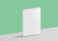 Libro del modello isolato su un fondo verde e grigio Immagini Stock