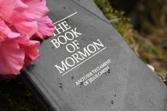 Libro del mormón fotos de archivo libres de regalías