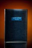 Libro del piano aziendale fotografia stock libera da diritti