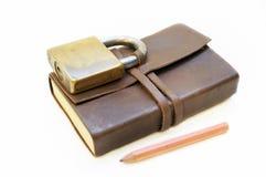 Libro del secreto Imágenes de archivo libres de regalías