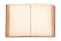 Libro del vintage con la trayectoria de recortes Foto de archivo