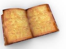 Libro dell'annata Fotografia Stock