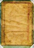 Libro dell'annata/worn&distressed Fotografia Stock