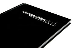 Libro della composizione Immagine Stock