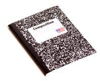 Libro della composizione Immagini Stock