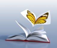 Libro della farfalla illustrazione vettoriale