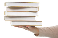 Libro della pila Fotografie Stock Libere da Diritti