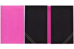 Libro della scheda con lo spazio in bianco Immagine Stock