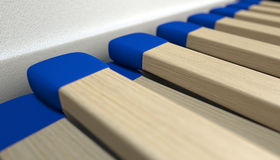Libro delle partite aperte macro Fotografia Stock