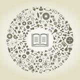 Libro delle scienze Fotografia Stock Libera da Diritti