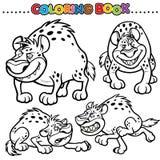 Libro di coloritura illustrazione di stock