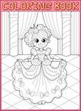 Libro di coloritura Coda leggiadramente Fotografia Stock